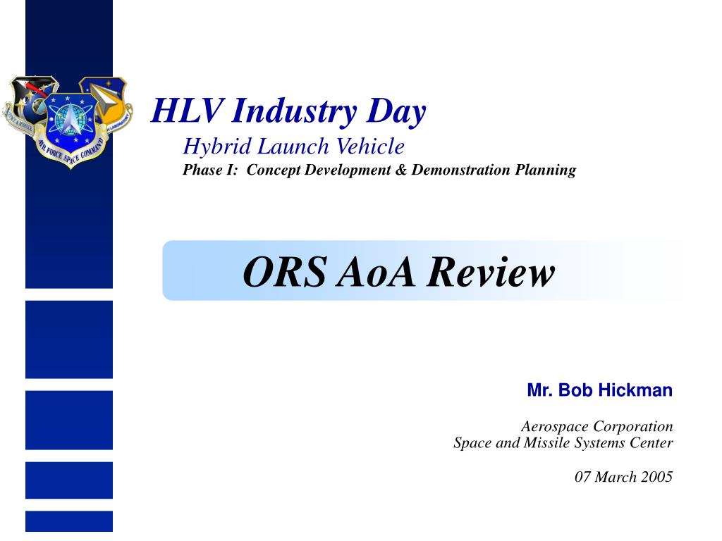 ORS AoA Review