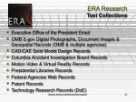 era research test collections