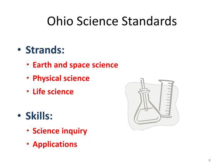 Ohio Science Standards