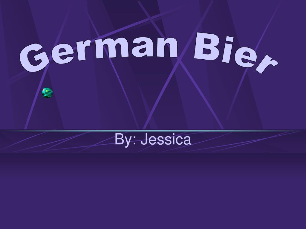 German Bier