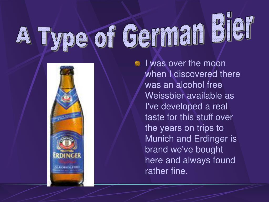A Type of German Bier