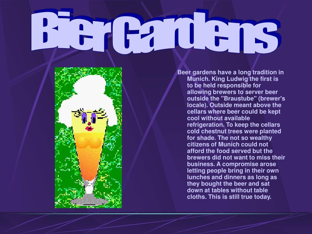 Bier Gardens