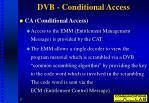 dvb conditional access