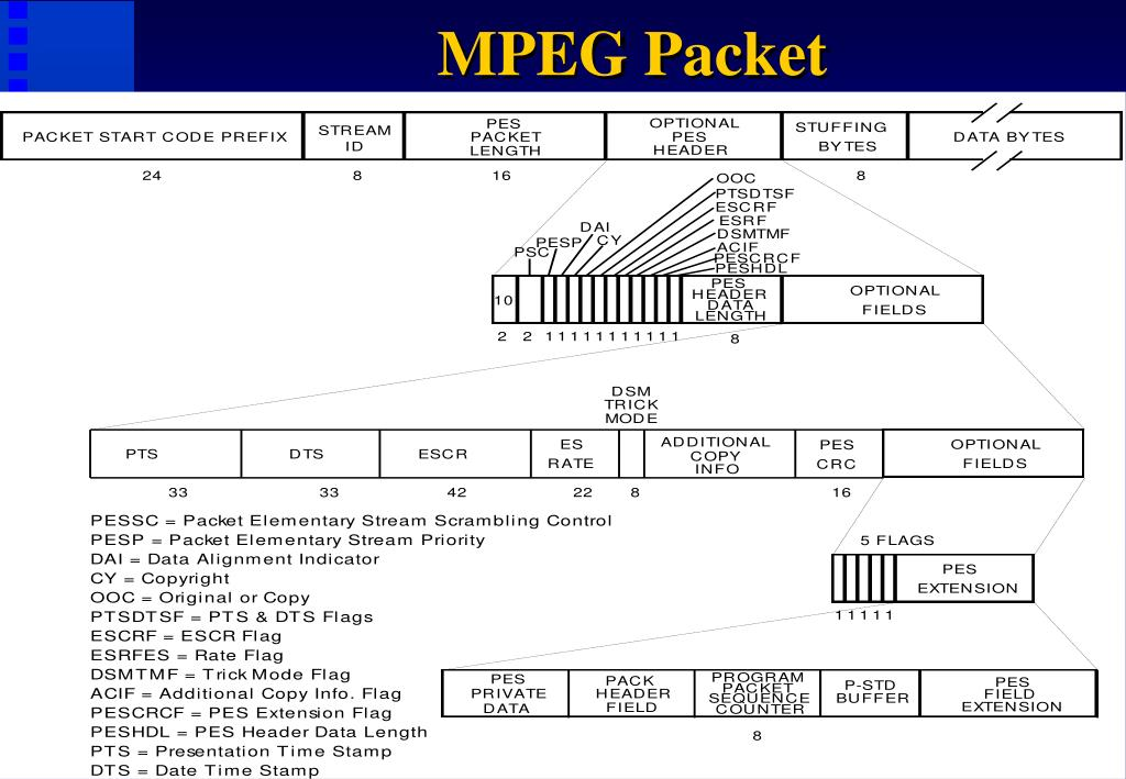 MPEG Packet