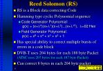 reed solomon rs