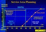 service area planning