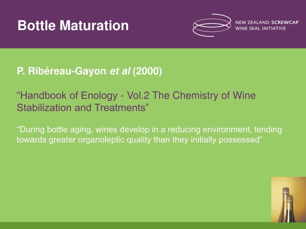Bottle Maturation