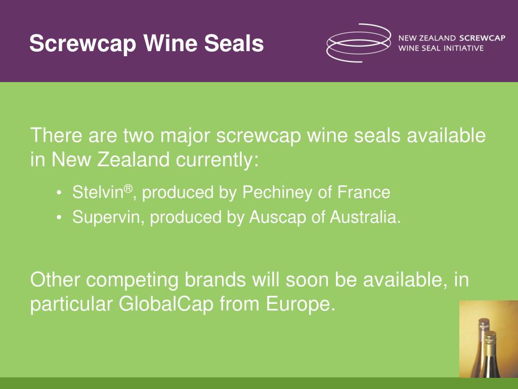 Screwcap Wine Seals