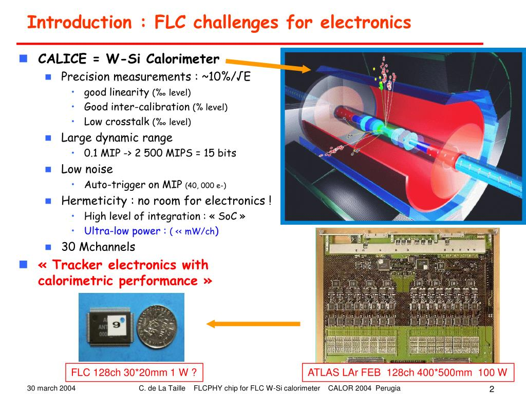 Introduction : FLC challenges for electronics