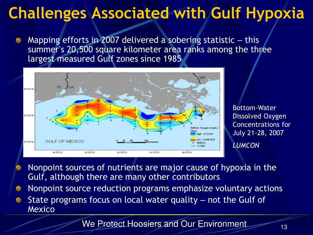 Challenges Associated with Gulf Hypoxia