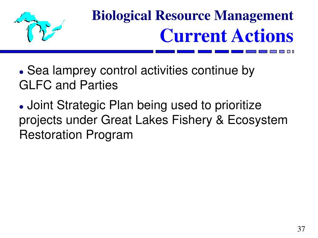 Biological Resource Management