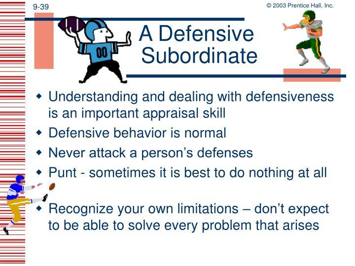 A Defensive