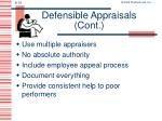 defensible appraisals cont1