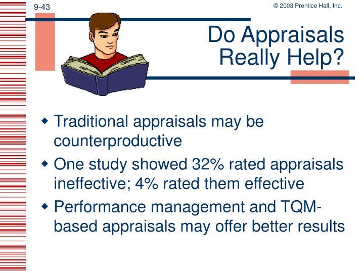Do Appraisals