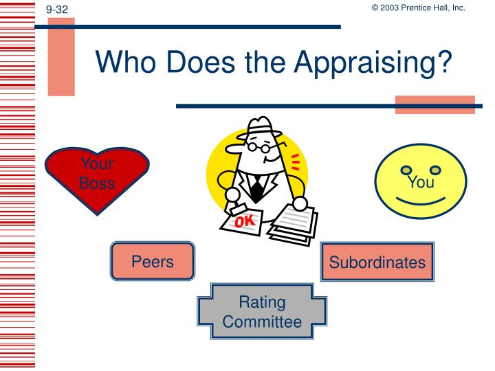 Who Does the Appraising?