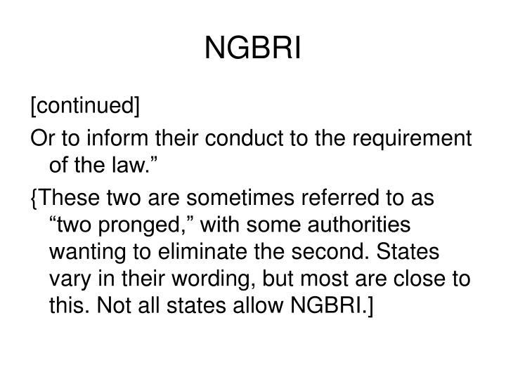 NGBRI