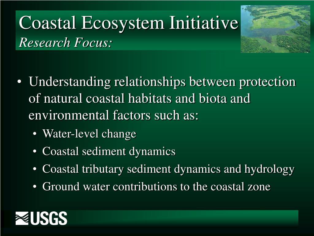 Coastal Ecosystem Initiative