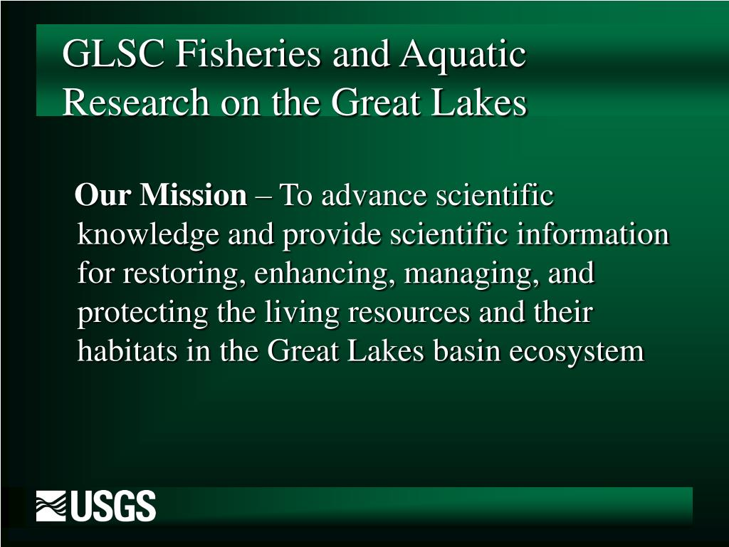 GLSC Fisheries and Aquatic Research on the Great Lakes
