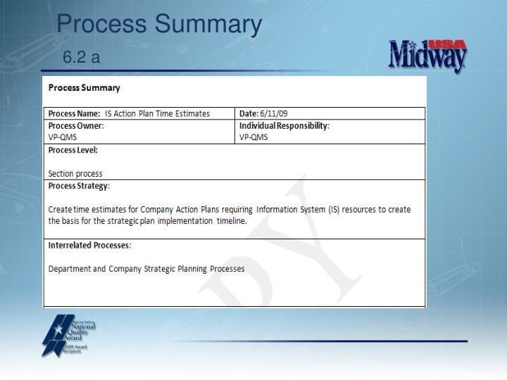 Process Summary