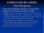 foreclosure crisis state response12