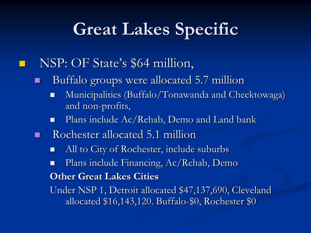 Great Lakes Specific
