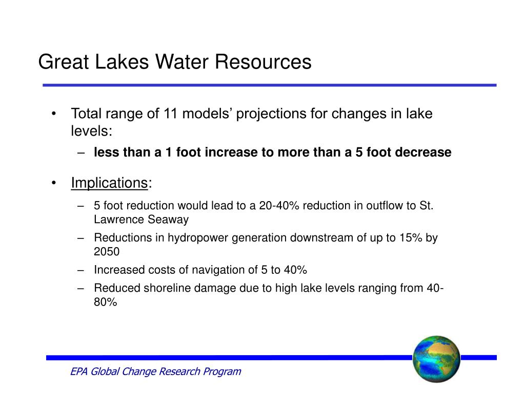 Great Lakes Water Resources