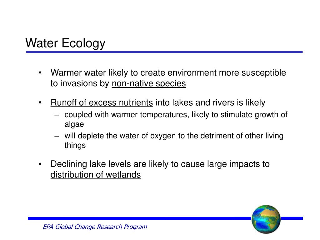 Water Ecology