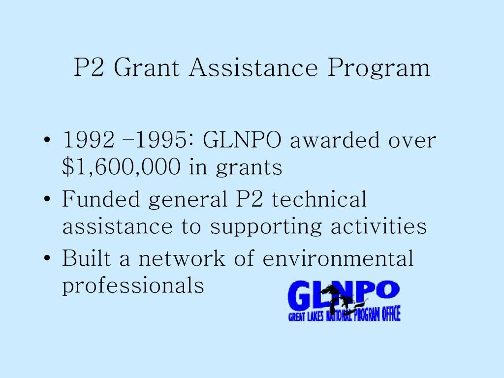P2 Grant Assistance Program