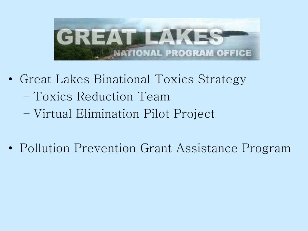 Great Lakes Binational Toxics Strategy