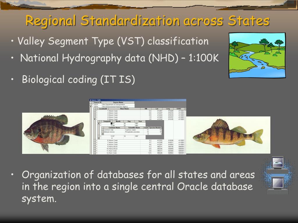 Regional Standardization across States