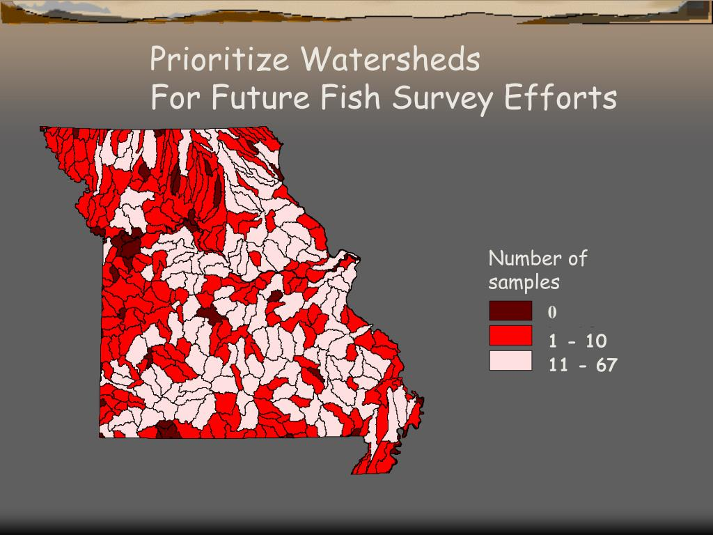 Prioritize Watersheds