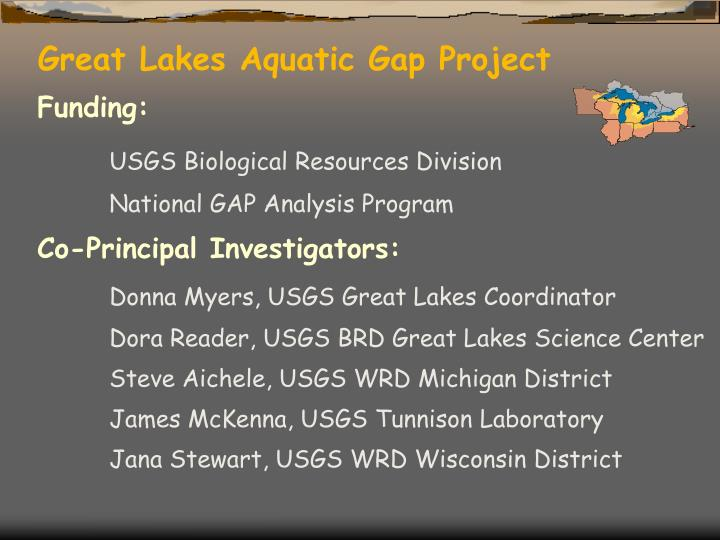 Great Lakes Aquatic Gap Project