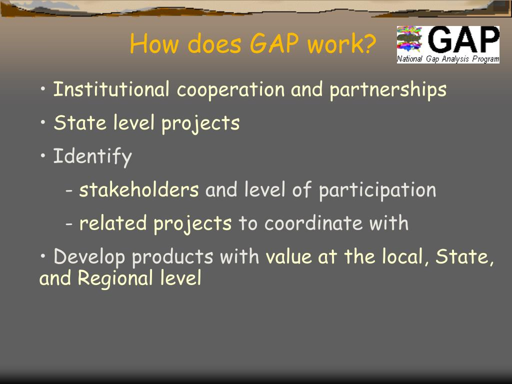 How does GAP work?