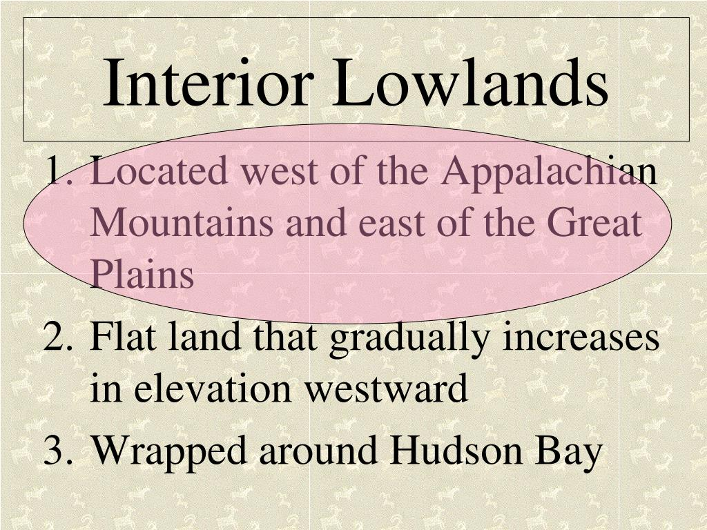 Interior Lowlands
