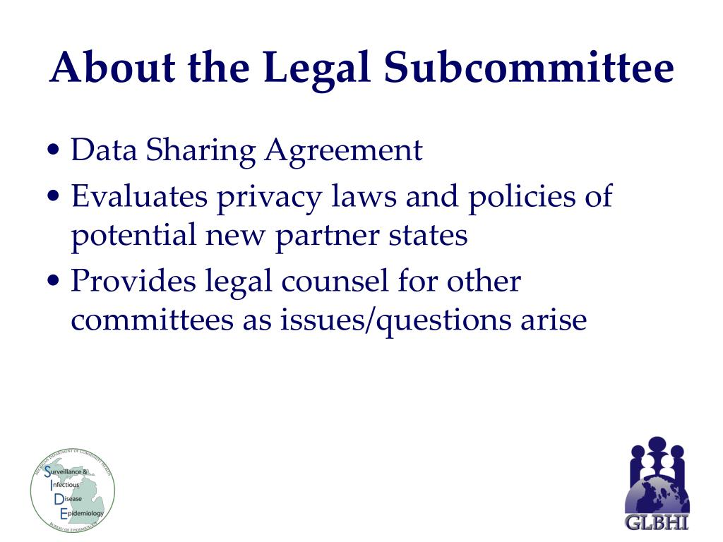 About the Legal Subcommittee