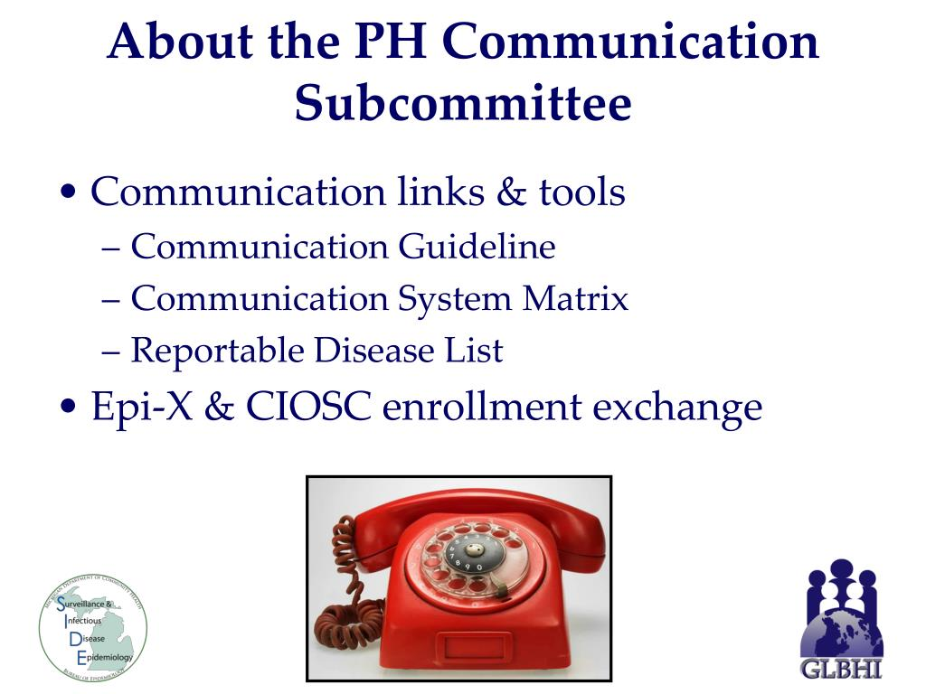 About the PH Communication Subcommittee