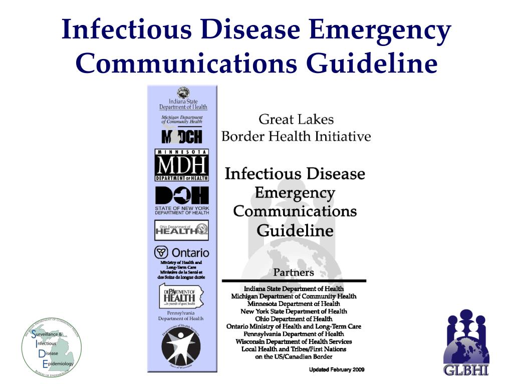 Infectious Disease Emergency Communications Guideline