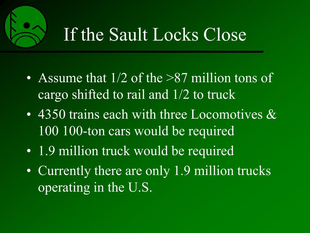 If the Sault Locks Close