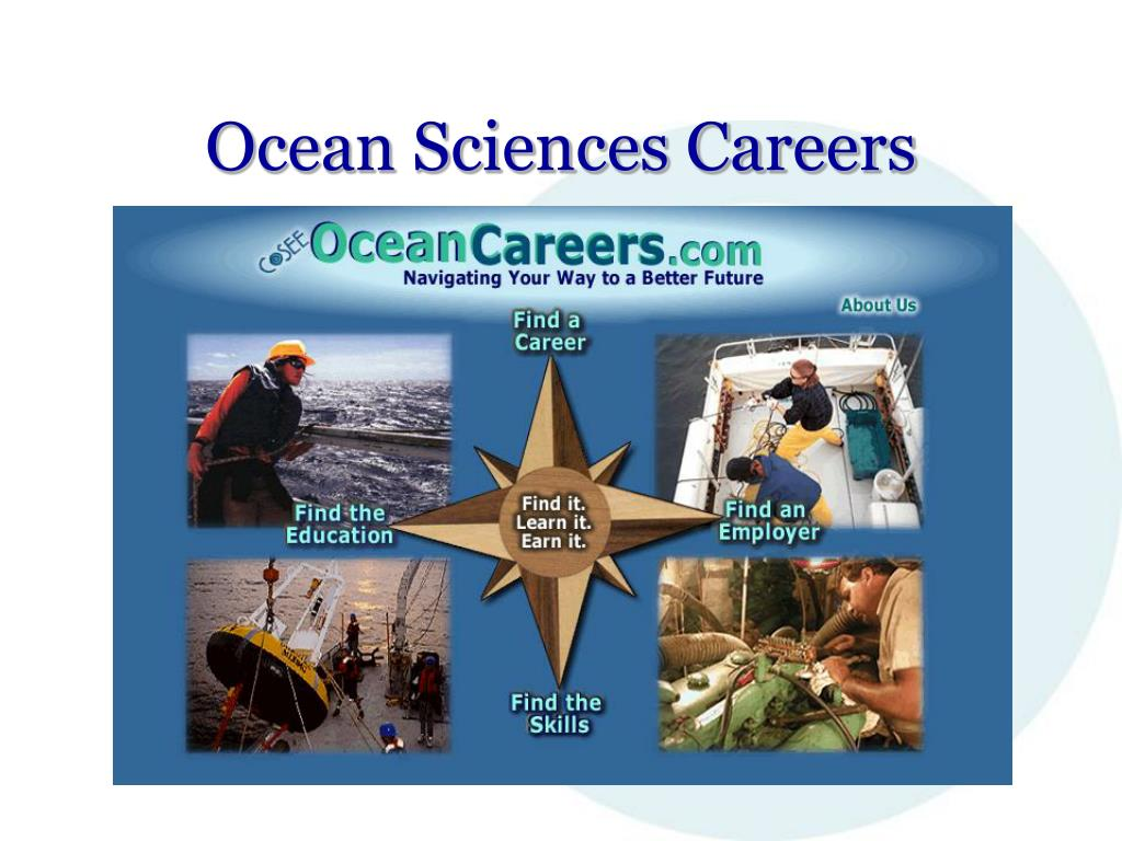 Ocean Sciences Careers