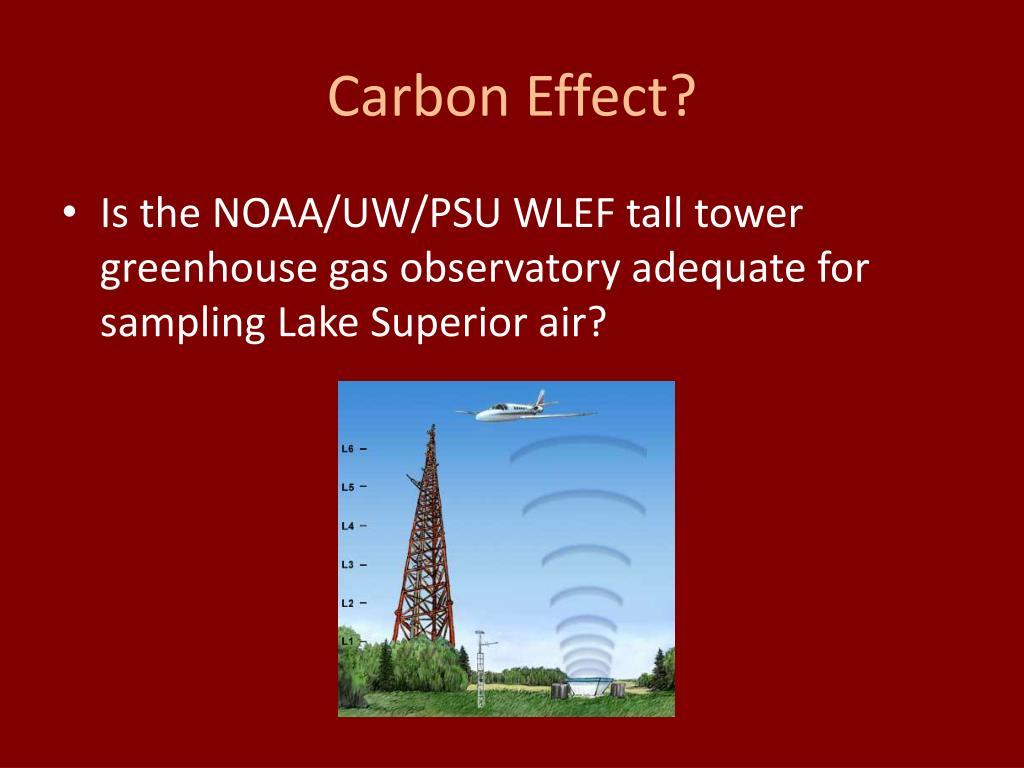 Carbon Effect?