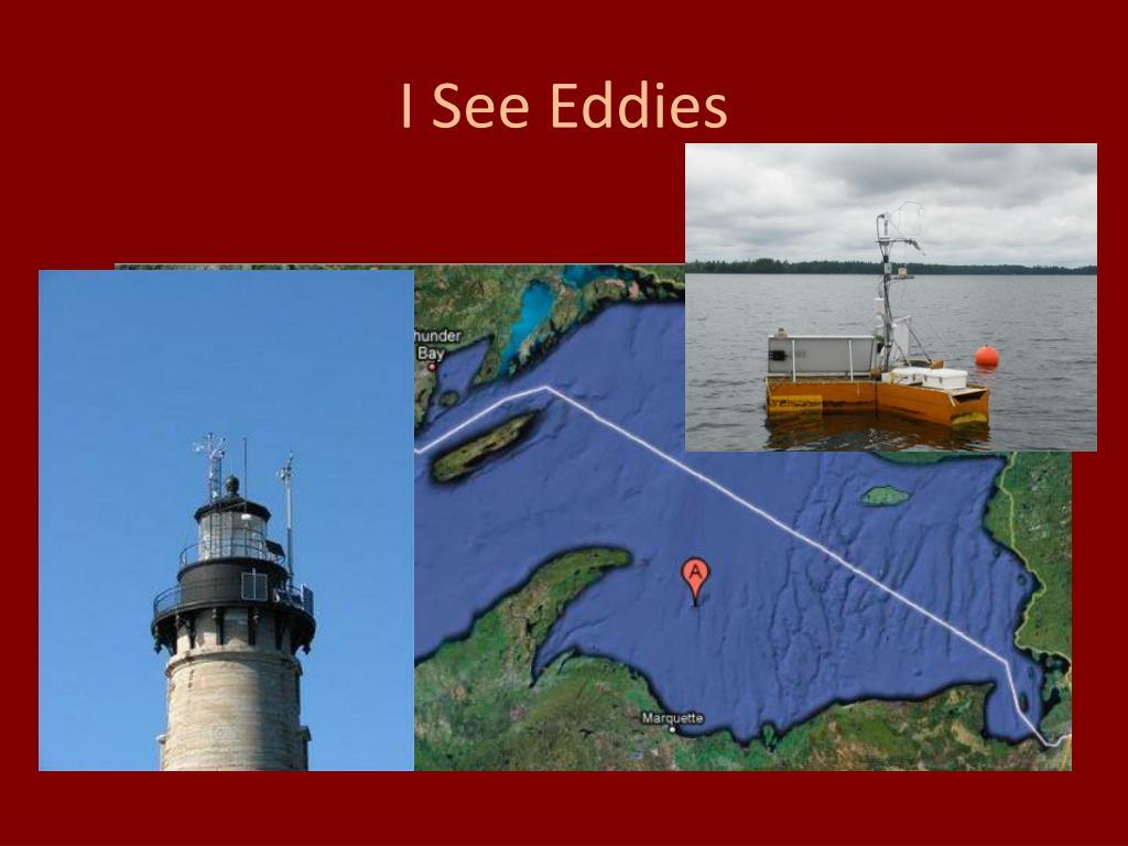 I See Eddies