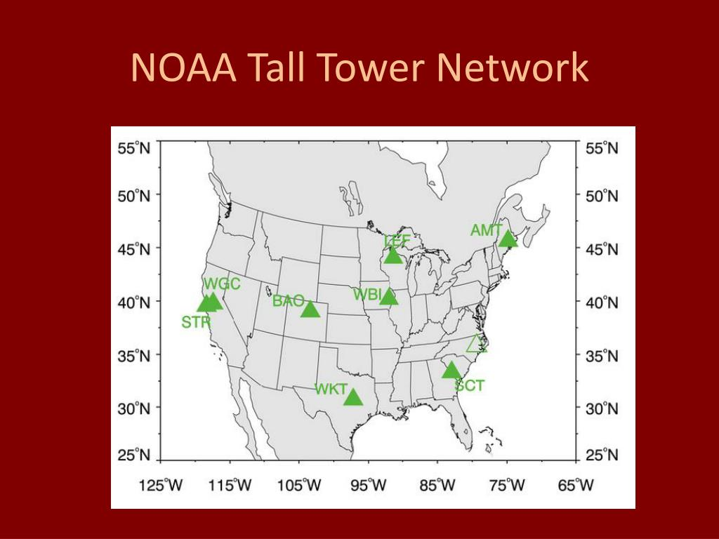 NOAA Tall Tower Network