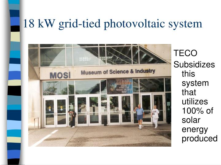 18 kW grid-tied photovoltaic system