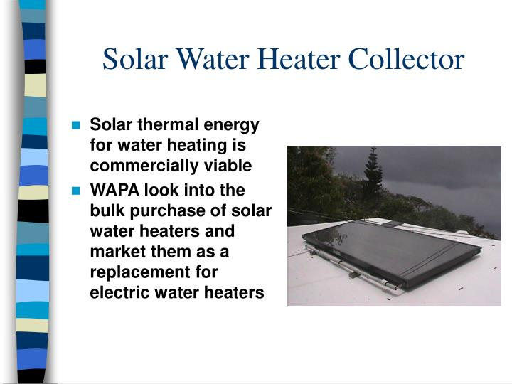 Solar Water Heater Collector