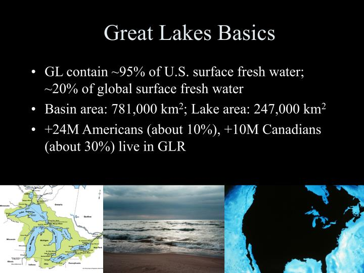 Great lakes basics