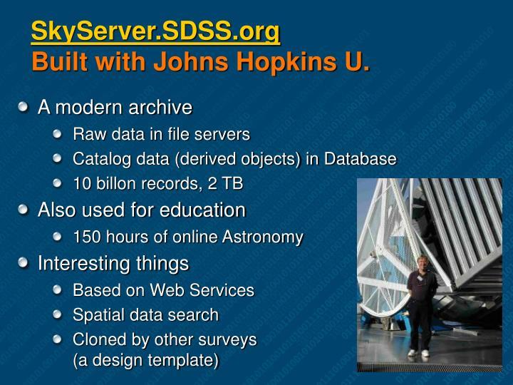 SkyServer.SDSS.org