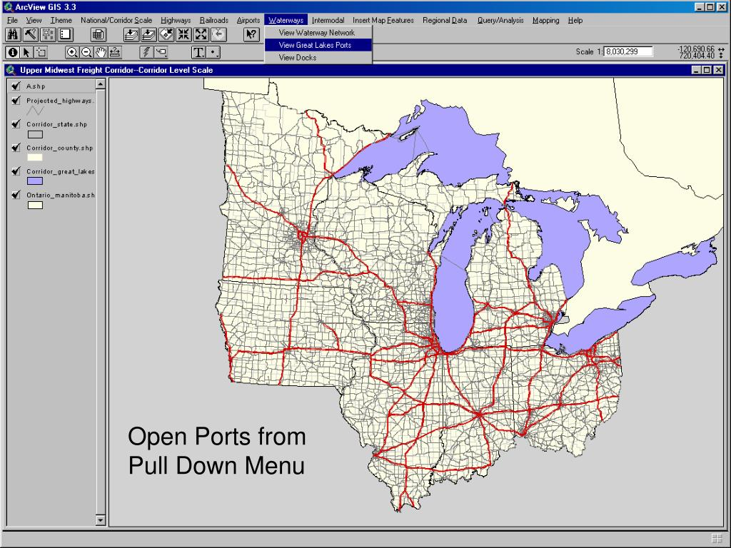 Open Ports from
