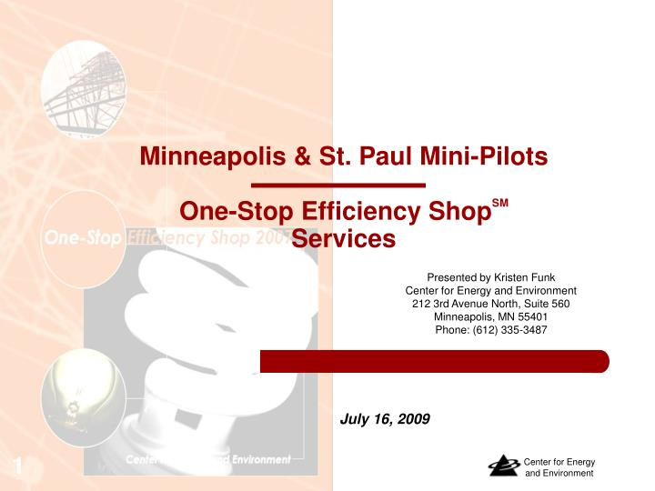 minneapolis st paul mini pilots one stop efficiency shop sm services
