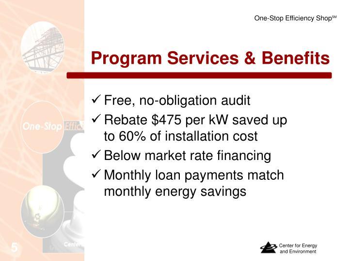 Program Services & Benefits