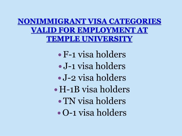 F-1 visa holders